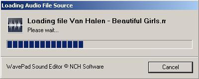 Loading MP3 file
